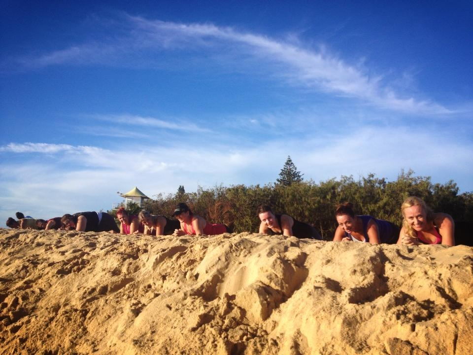SandDunes, bootcamp sunshine coast