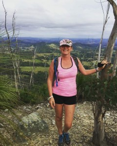 Shelagh Brennand Making Adventure Beautiful on Mount Cooroora