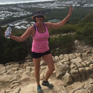 Andrea Murphy Making Adventure Beautiful on Mount Coolum