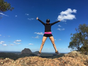 Megan Dive Making Adventure Beautiful on Mount Cooroora