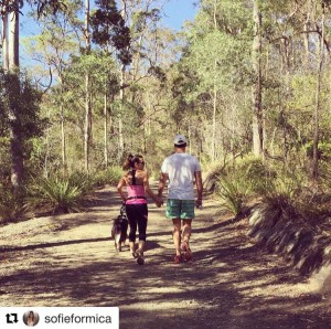 Sofie Formica Making Adventure Beautiful on Mount Cootha